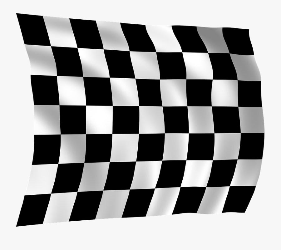 Hd Checkered Flag - Let The Race Begin, Transparent Clipart