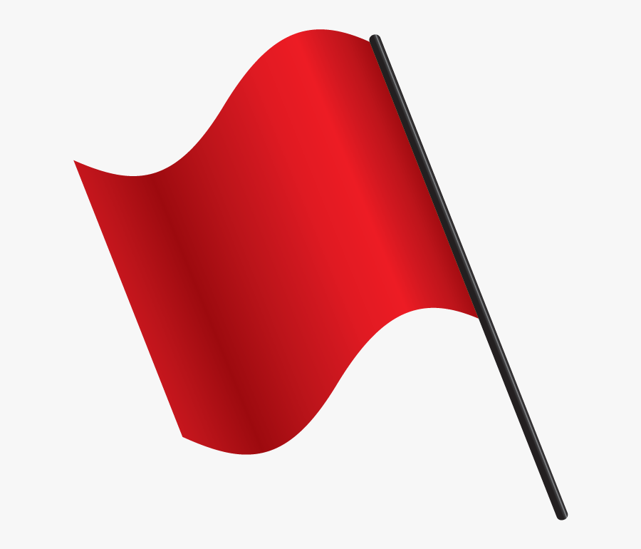 Respect The Amp Up - Red Flags Transparent, Transparent Clipart