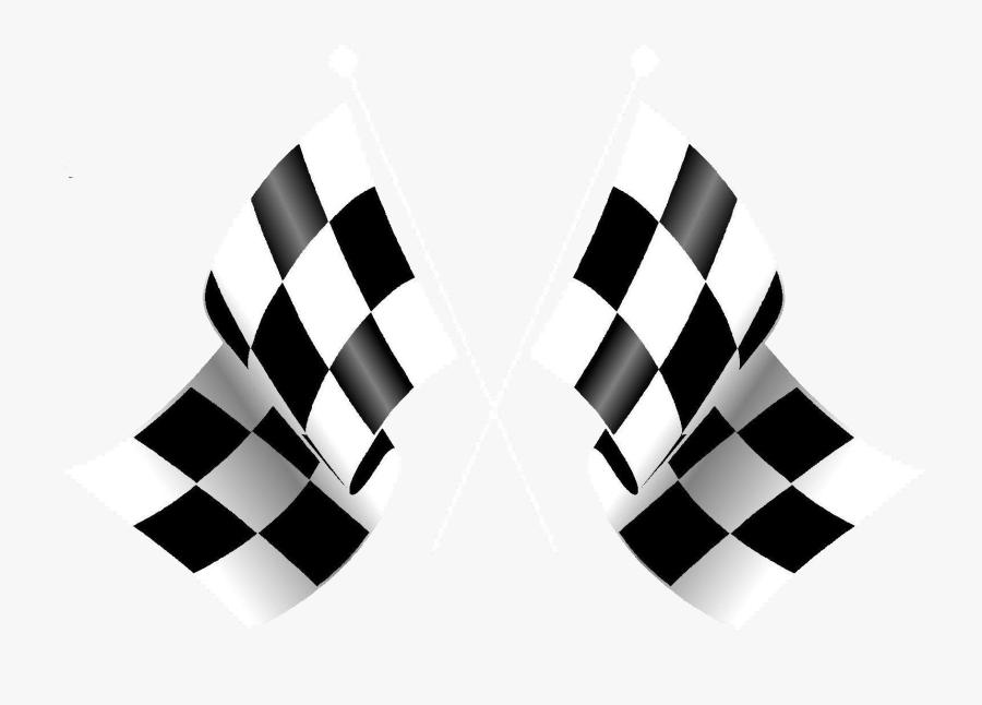 Racing Flag Png Transparent Images - Racing Flag Logo Design, Transparent Clipart