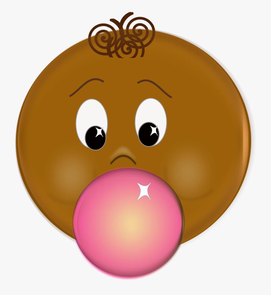 Bubble Gum Free Vector / 4vector - Macher Du Chewing Gum, Transparent Clipart