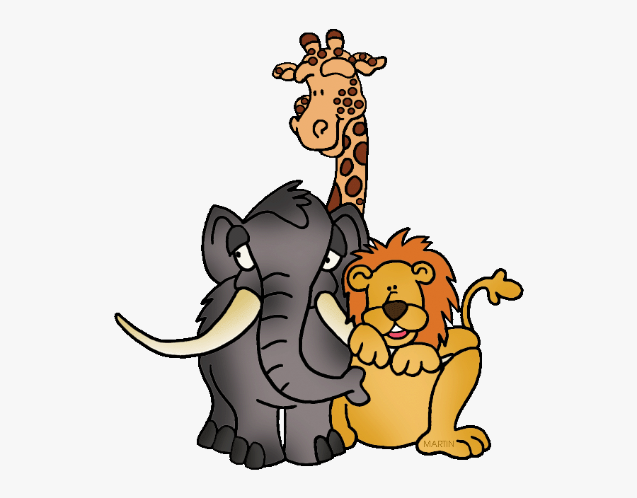 Free Zoo Animal Clipart - Zoo Animals Clipart, Transparent Clipart