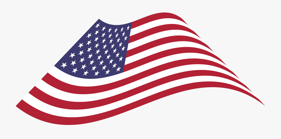 Flag Of The United States,line,united States Of America - Flag Of The United States, Transparent Clipart