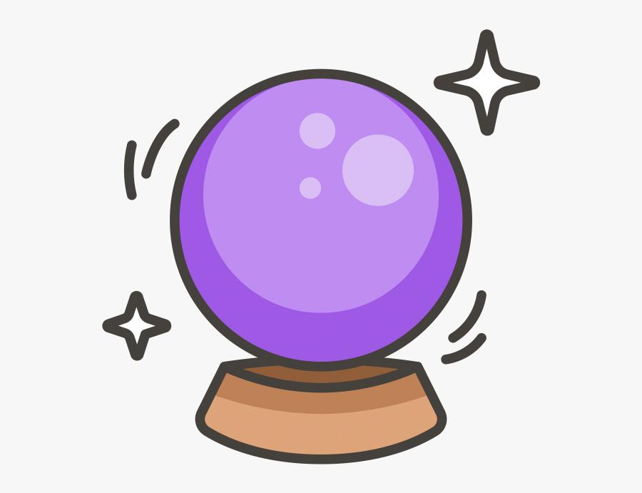 Transparent Crystal Clipart - Magic Crystal Ball Clipart, Transparent Clipart