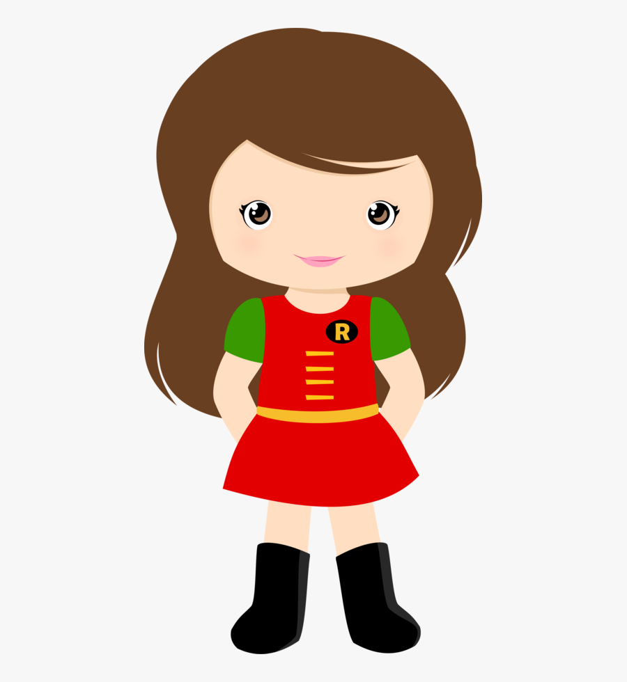Super Heroes Animados Mujeres, Transparent Clipart