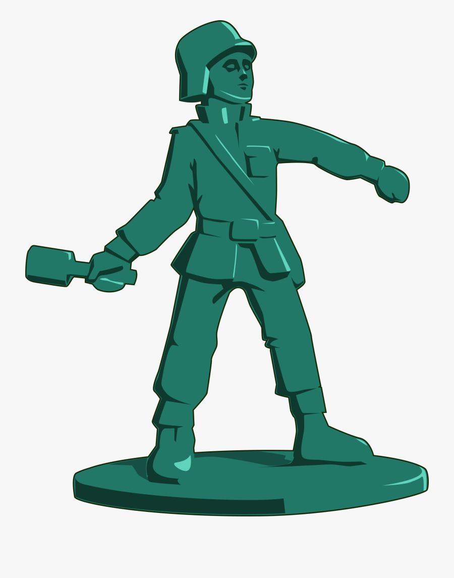Transparent Soldier Png - Toy Soldier Clipart, Transparent Clipart