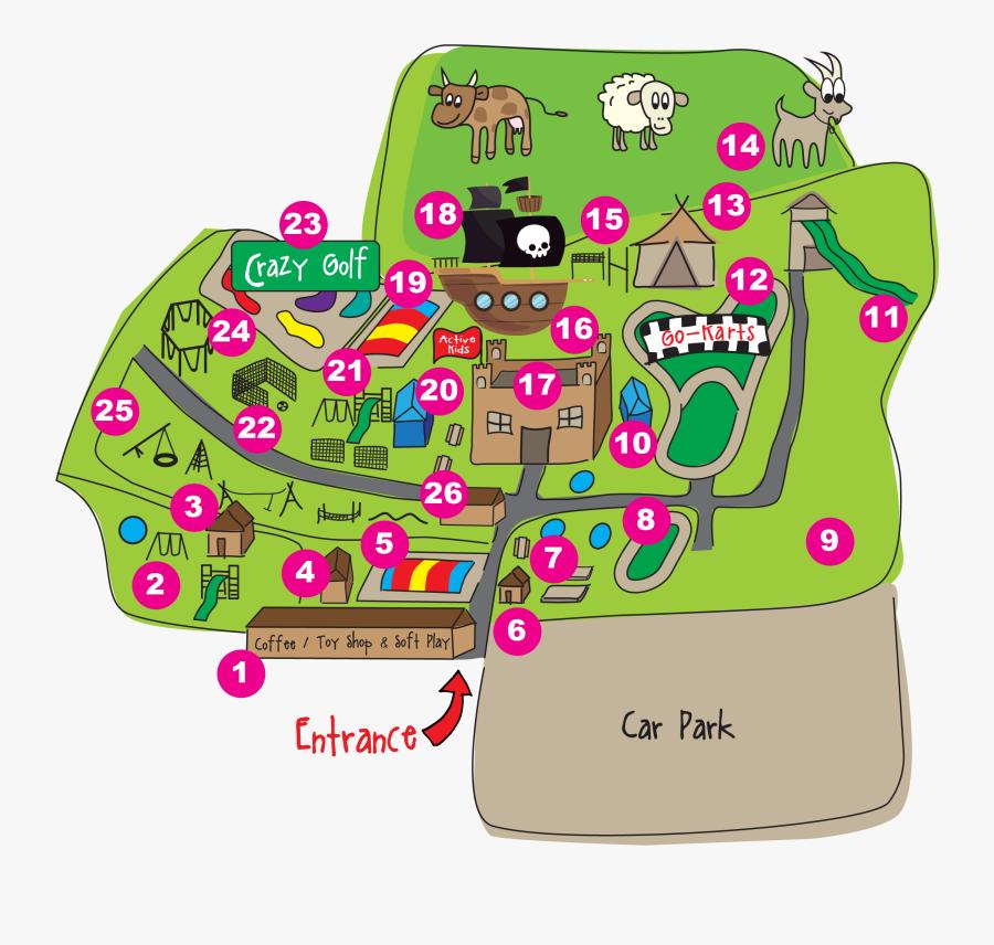 Active Kids Adventure Park, Transparent Clipart
