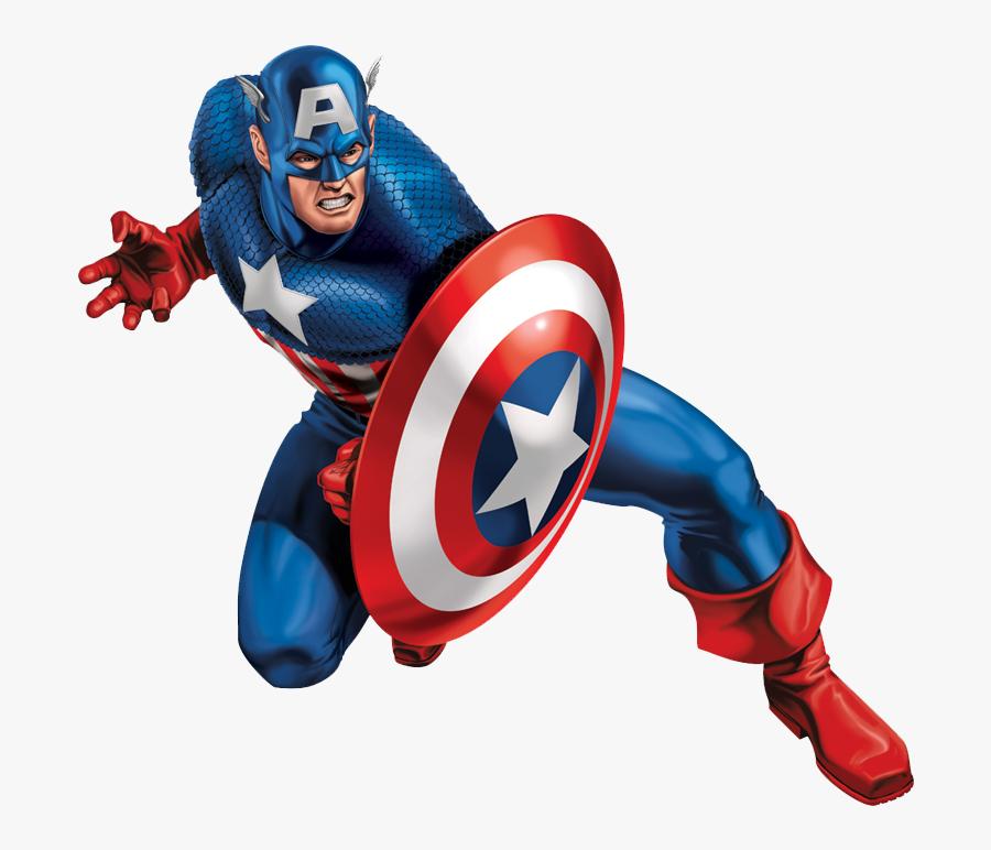 America Superhero Marvel Comics Sticker Iron Captain - Marvel Captain America Tattoo, Transparent Clipart