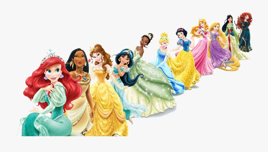 Download Disney Princesses Png Clipart - Disney Princesses Transparent Background, Transparent Clipart