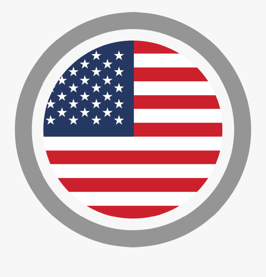 United States Of America Flag Of The United States - Homosassa Springs Wildlife State Park, Transparent Clipart