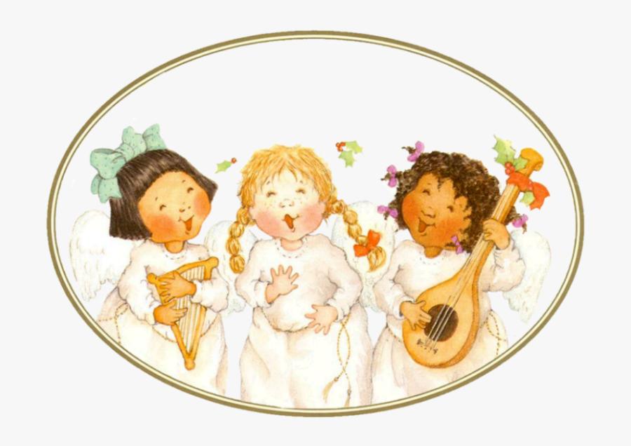Clip Art Christmas Angels - Christmas Angels Png, Transparent Clipart