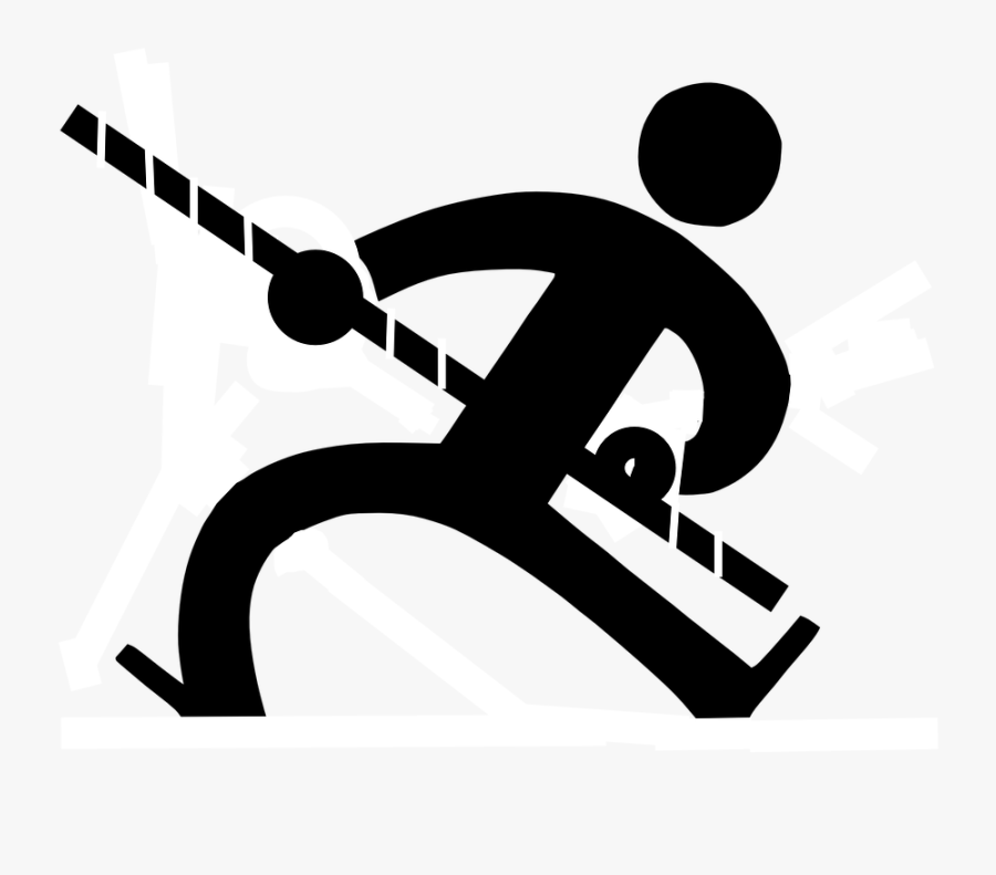 Jump Clipart - Man Pulling On Rope Clipart, Transparent Clipart