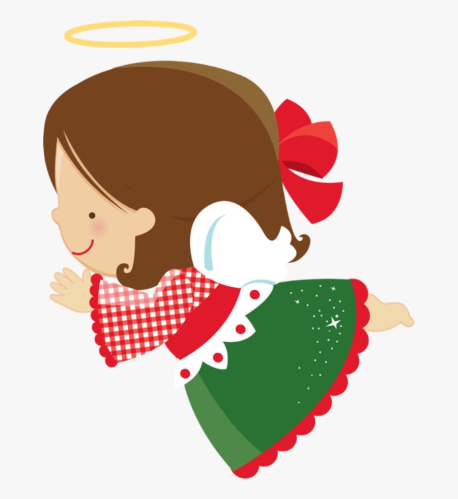 Transparent Gorro De Natal Png - Anjinhos De Natal Png, Transparent Clipart