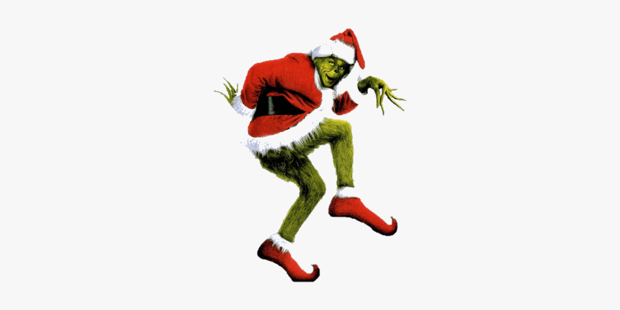 Grinch Blank Santa Face Clip Art Christmas Transparent - Grinch Stole Christmas, Transparent Clipart