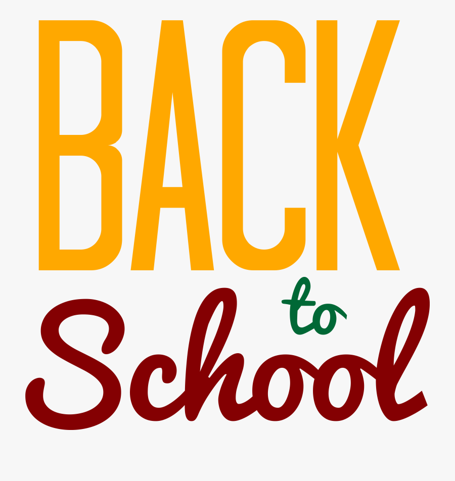 Back To School Logo Clip Art Clipart Best - Back To School Logo Png, Transparent Clipart