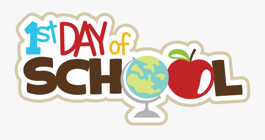 Ppbn Designs First Of - 1st Day Of School Clipart, Transparent Clipart
