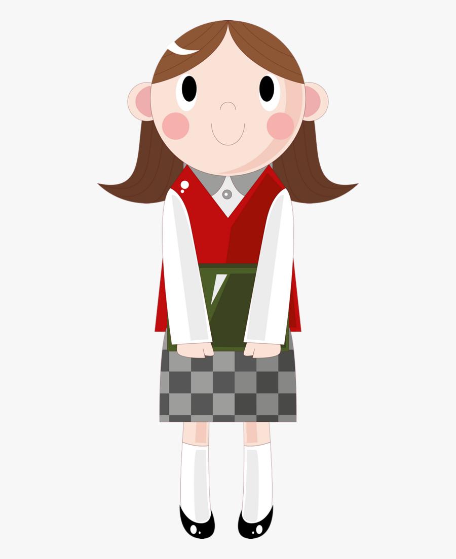 Escola & Formatura School Days, Art School, Back To - Children Uniform School Clipart, Transparent Clipart