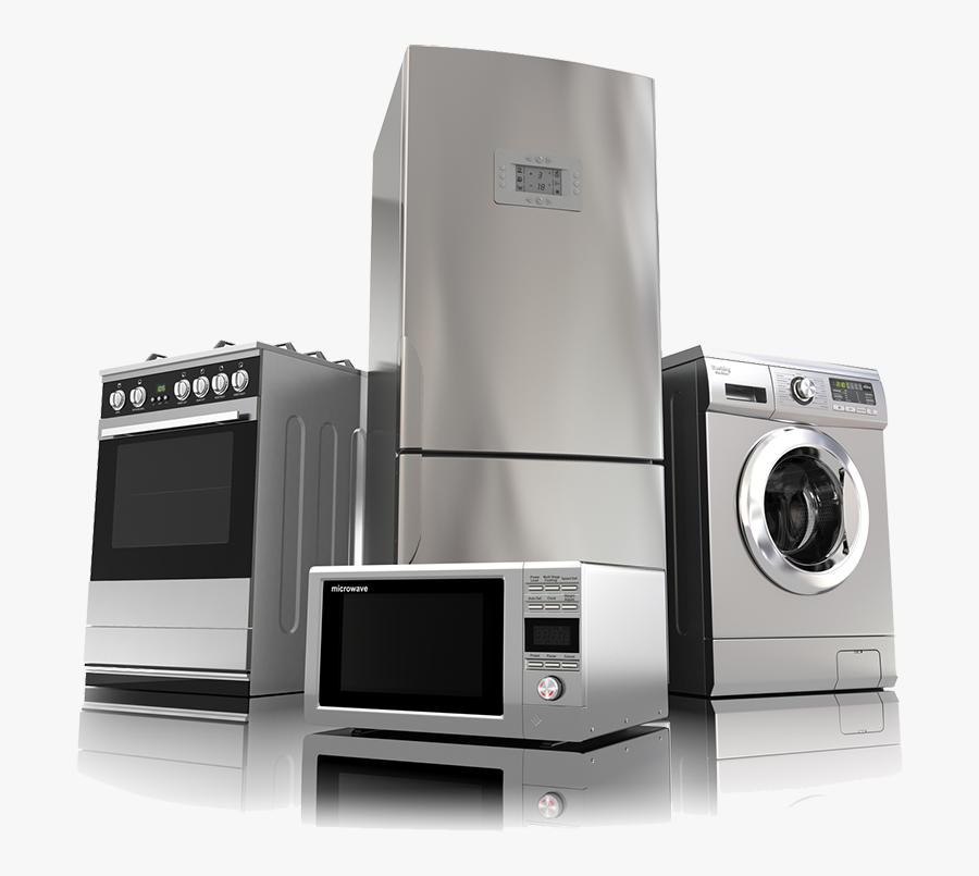Home Appliances Clip Art - Home Appliances, Transparent Clipart