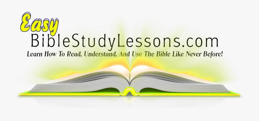 Transparent Bible Study Clipart - Book, Transparent Clipart