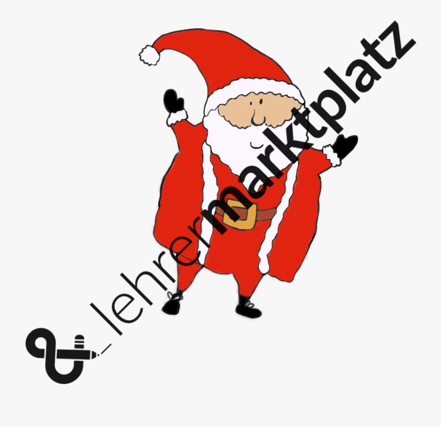Cliparts Advent Und Weihnachten - Santa Claus, Transparent Clipart