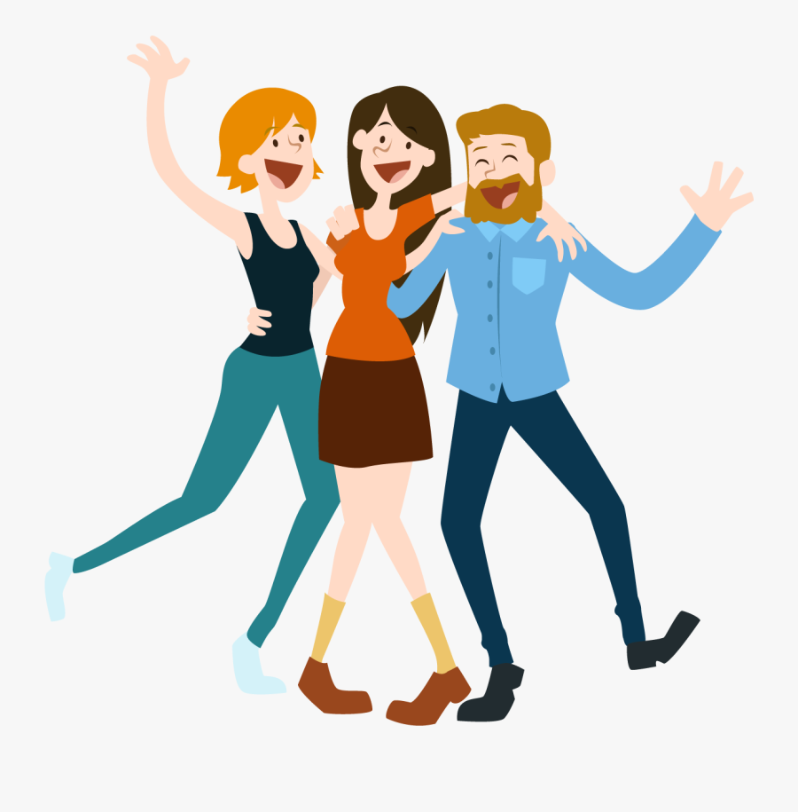 People Clipart Transparent - Happy People Clipart Transparent, Transparent Clipart