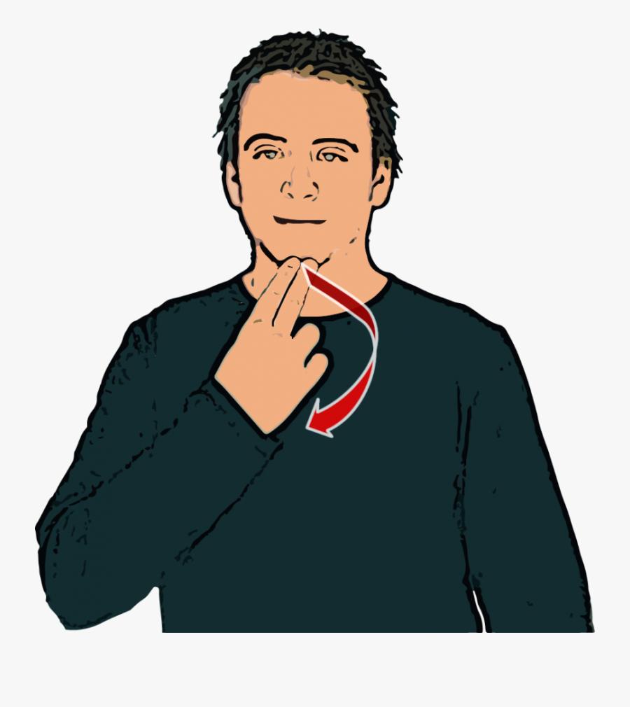 British Sign Language Good Afternoon, Transparent Clipart