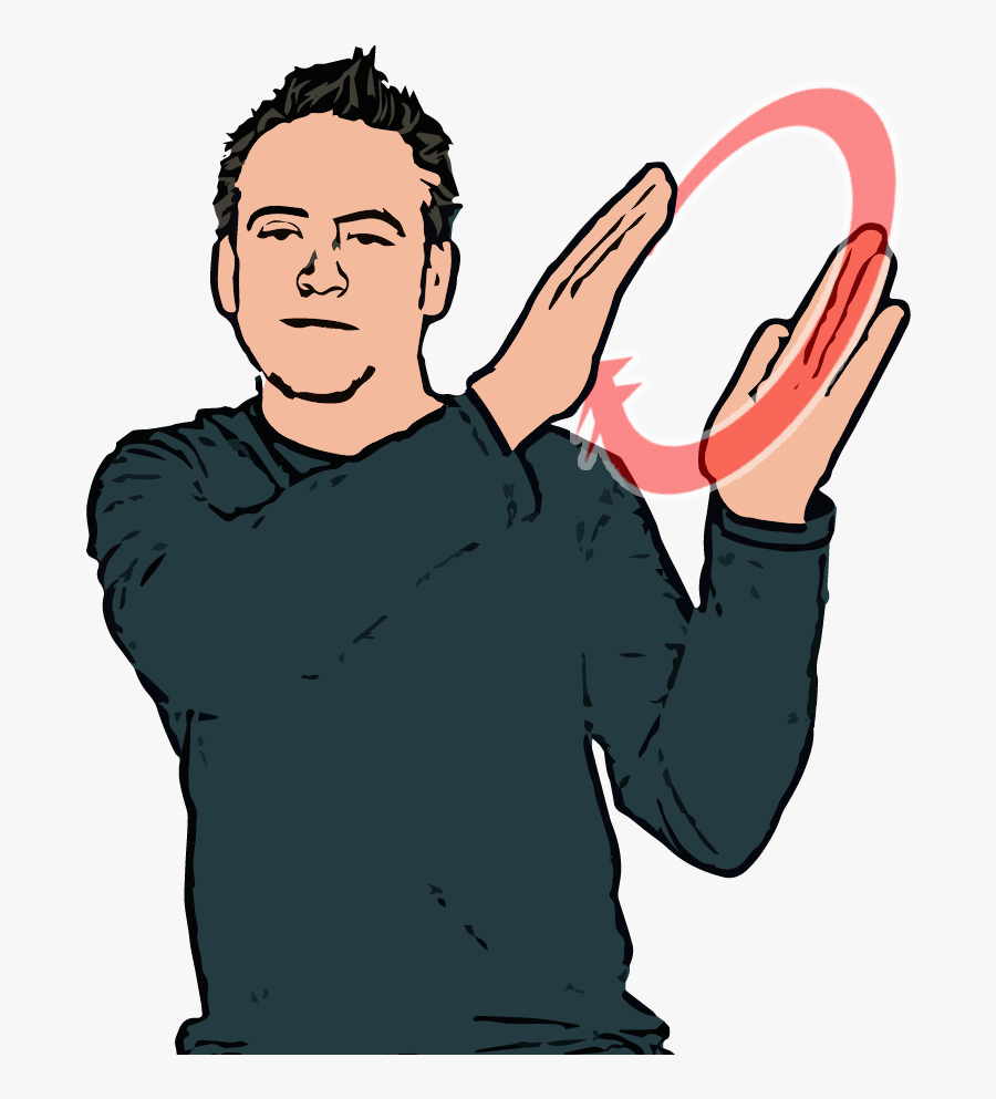 British Sign Language, Transparent Clipart