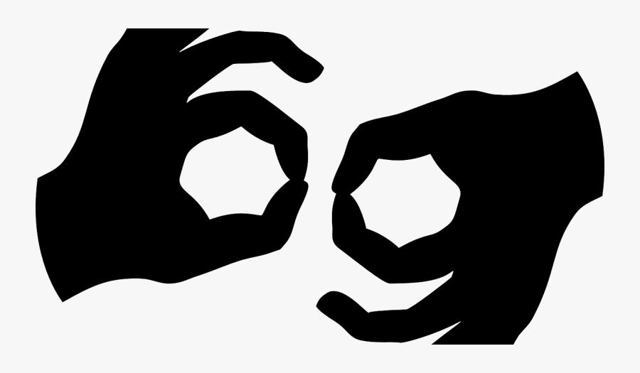 American Sign Language, Transparent Clipart