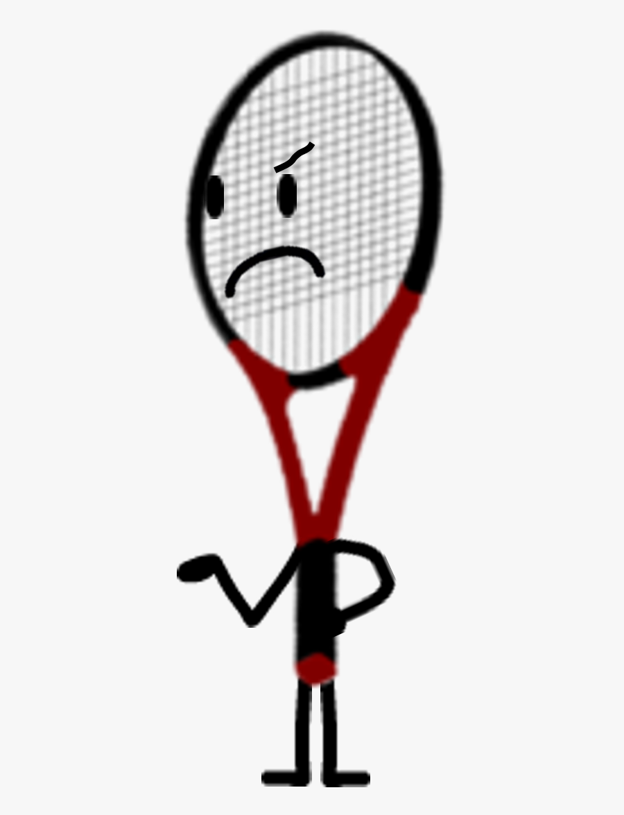 Tennis Racquet, Transparent Clipart