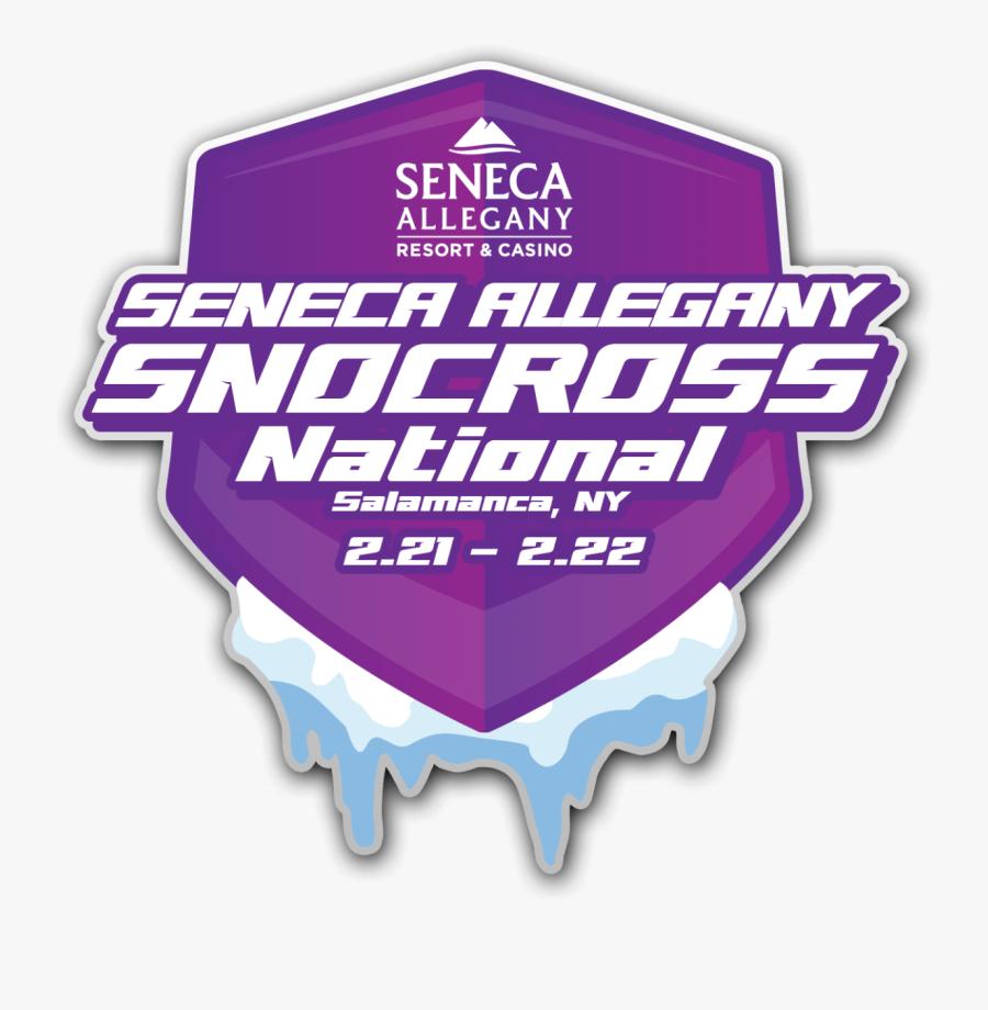 Seneca Allegany Snocross National - Graphic Design, Transparent Clipart
