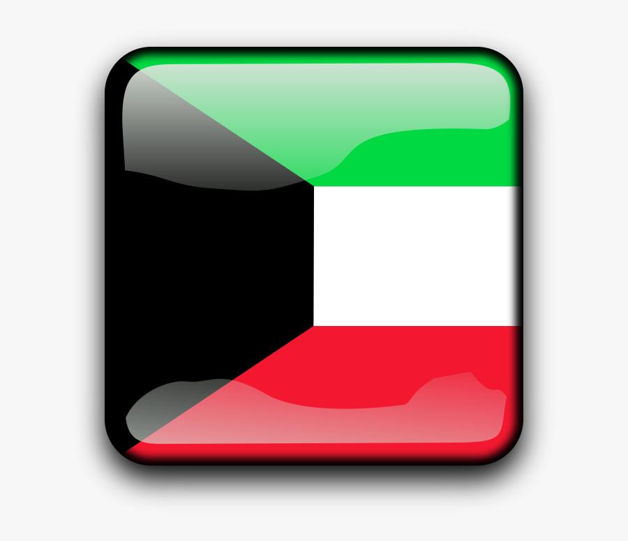 Kuwaiti - Clipart - Flag Of Kuwait, Transparent Clipart