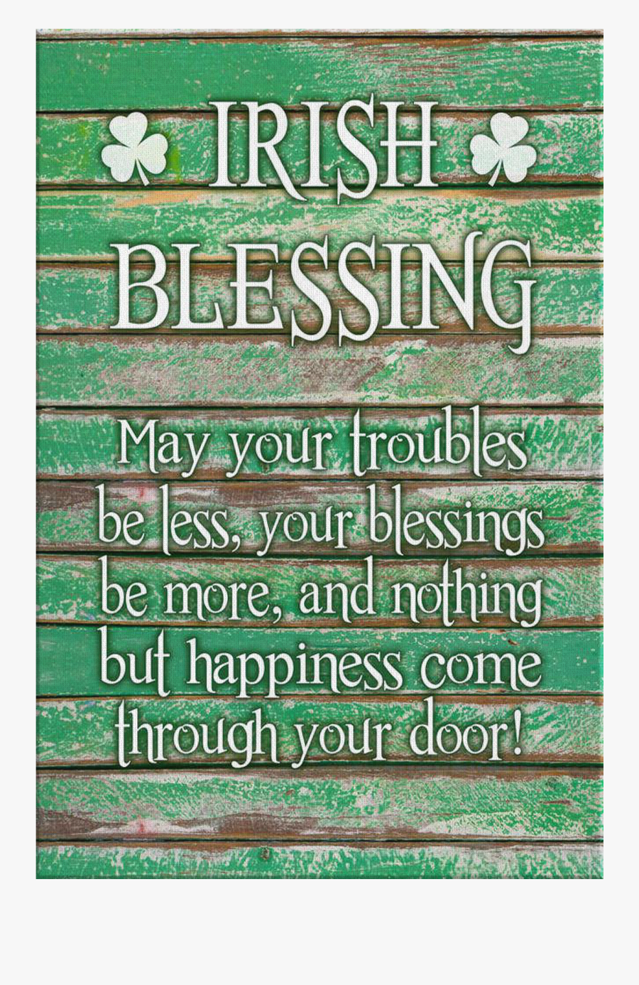 May Your Troubles Be Less - May Your Troubles Be Less And Your Blessings Be More, Transparent Clipart