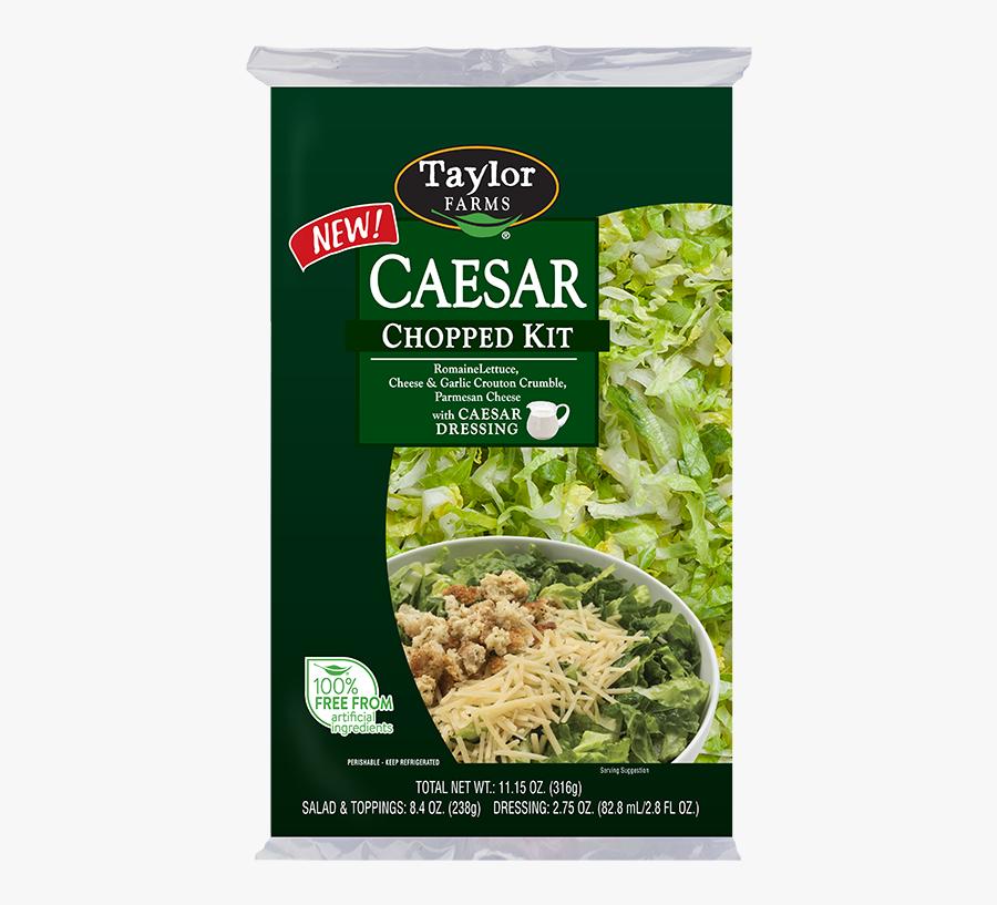 Chopped Caesar Salad Kit, Transparent Clipart