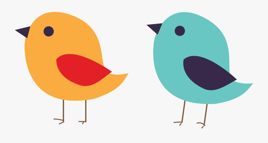 Bird Beak Cygnini Clip Art - Clipart Cute Birds Png, Transparent Clipart