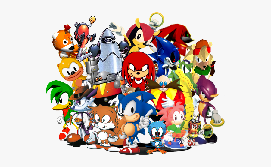 Sonic News Network - Classic Sonic And Friends, Transparent Clipart