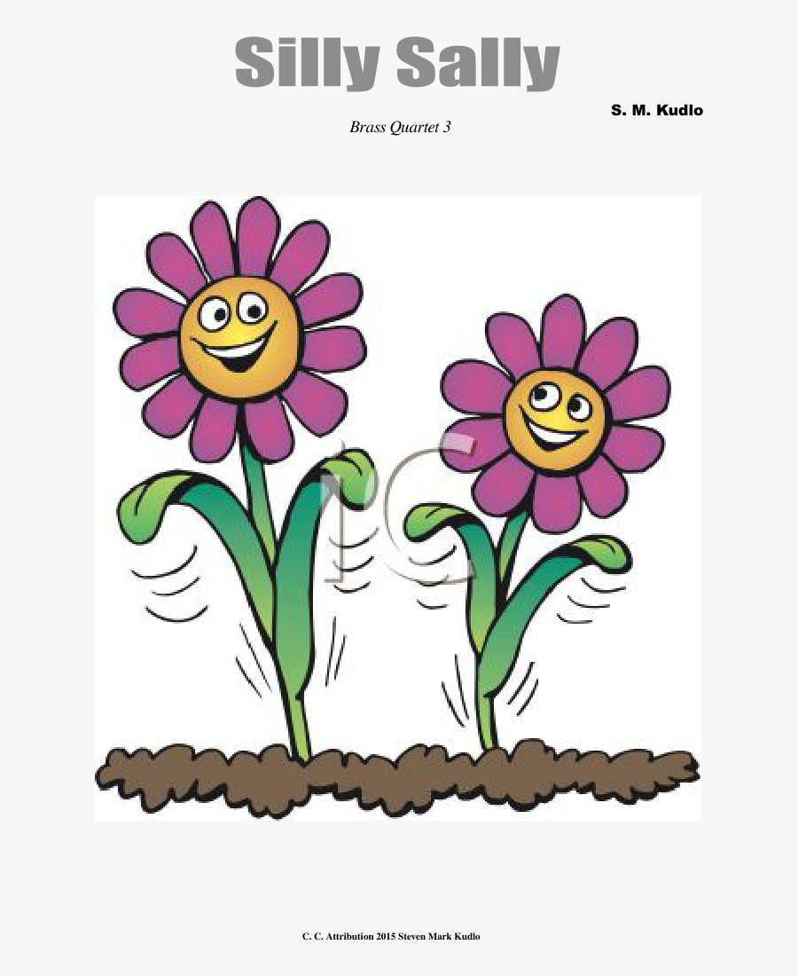 Cartoon Flowers With Faces Free Transparent Clipart Clipartkey