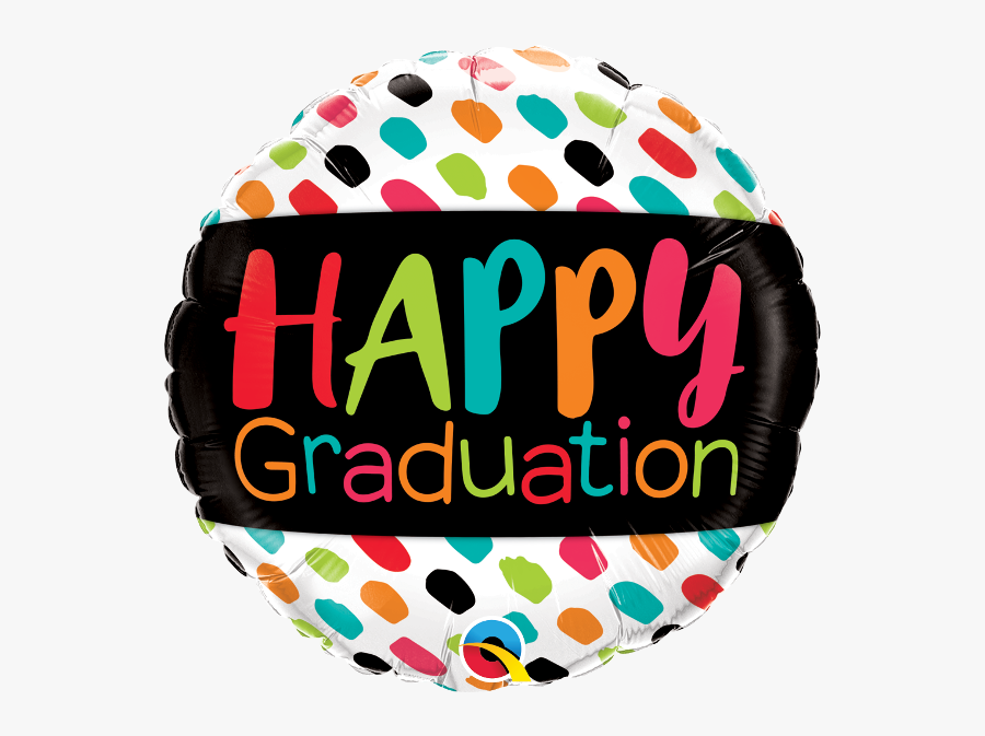 Happy Graduation Balloons, Transparent Clipart
