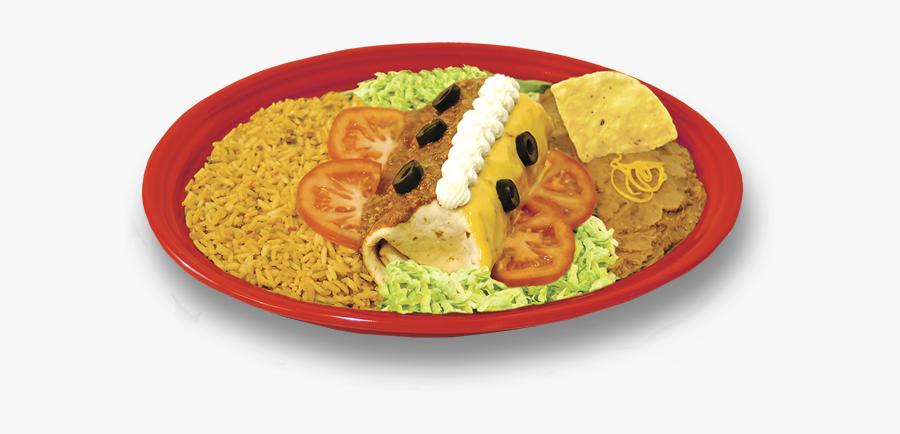 Platters Taco Villa Smothered - Taco Villa Smothered Burrito, Transparent Clipart