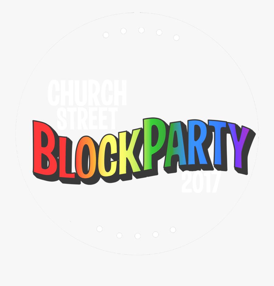 Clipart Church Block Party - Graphic Design, Transparent Clipart