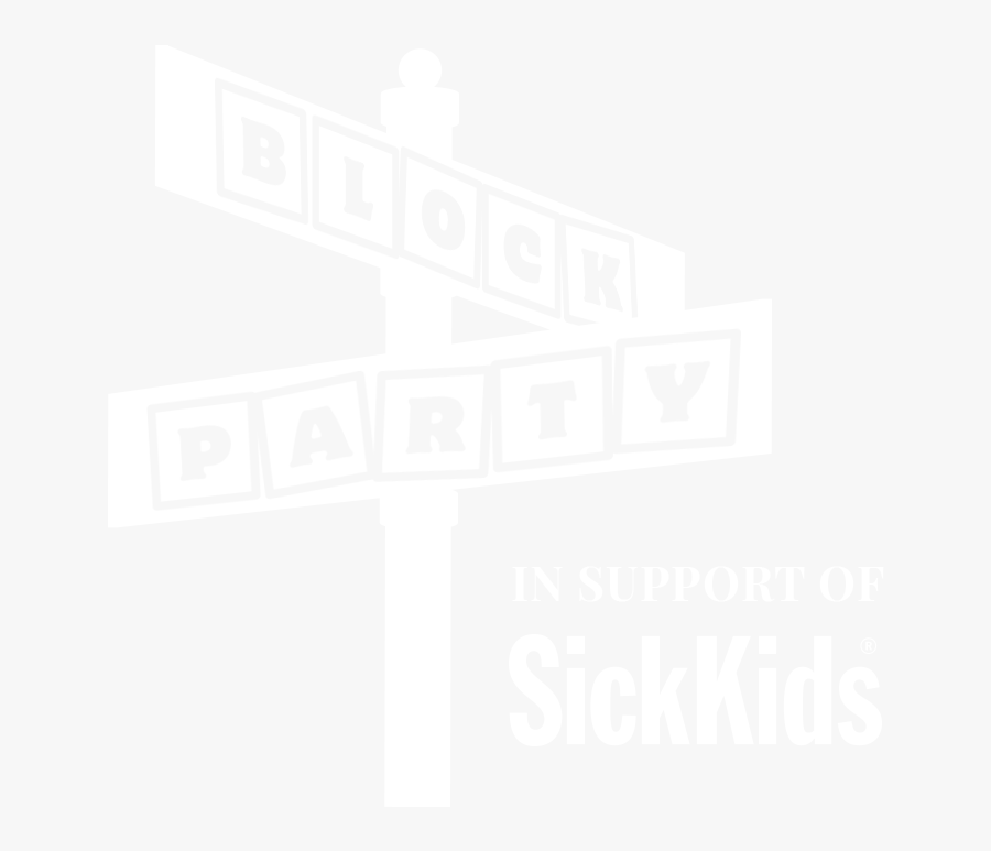 Block Party Png -block Party In Support Of Sickkids, - Sick Kids Foundation, Transparent Clipart