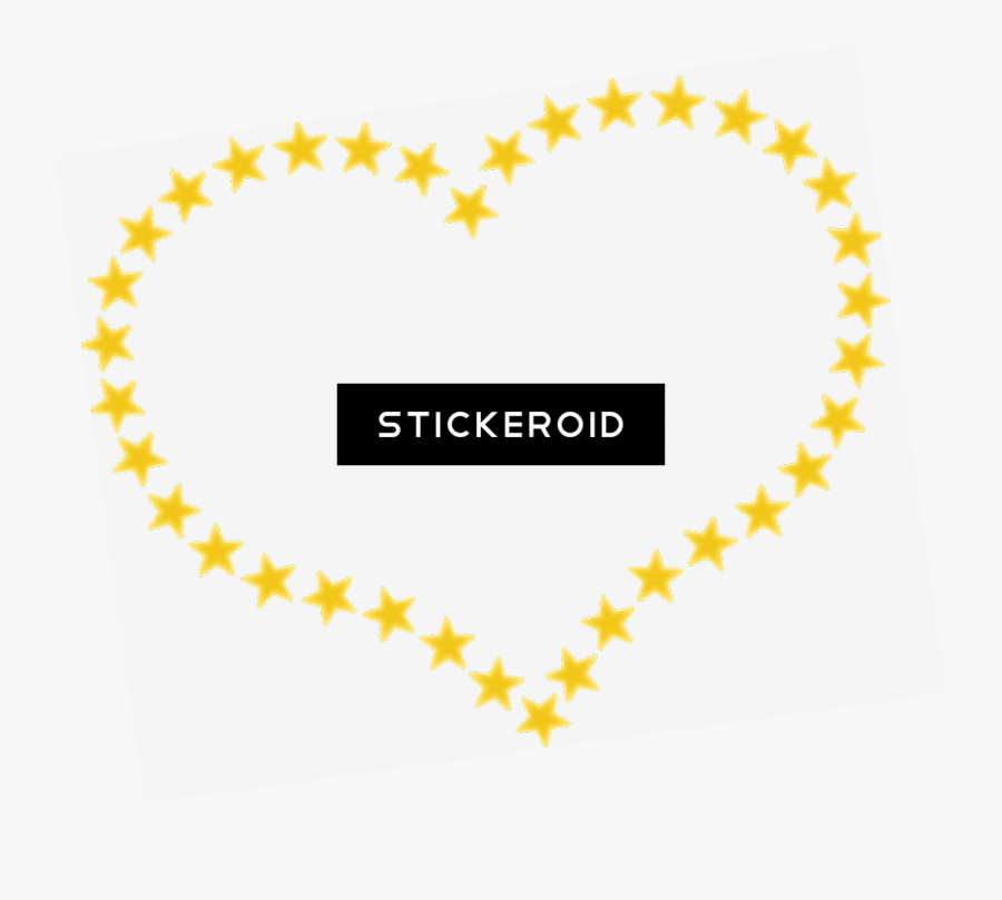 Yellow Blue Shooting Star - Heart Of Stars Png, Transparent Clipart