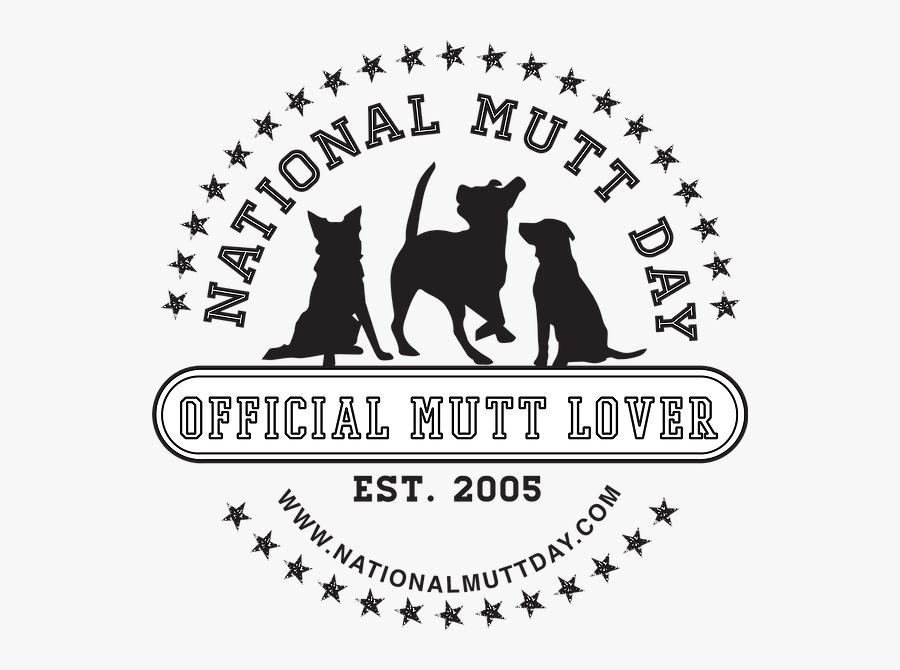Nationalmuttday - National Mutt Day July 31, Transparent Clipart