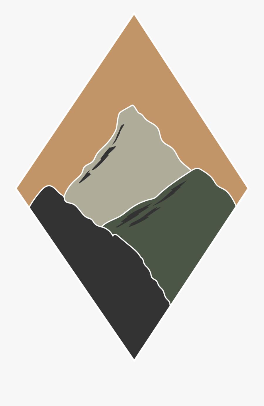 Diamond Mountains Color2, Transparent Clipart