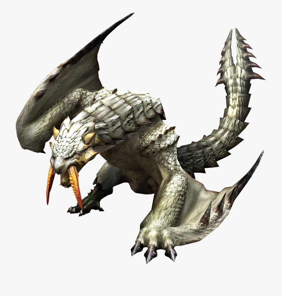 What Do You Think - Barioth Monster Hunter World, Transparent Clipart