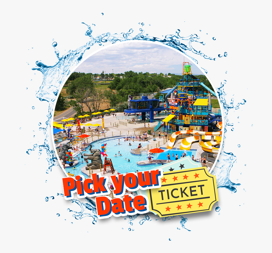 Pick Your Date Ticket - Amusement Park, Transparent Clipart