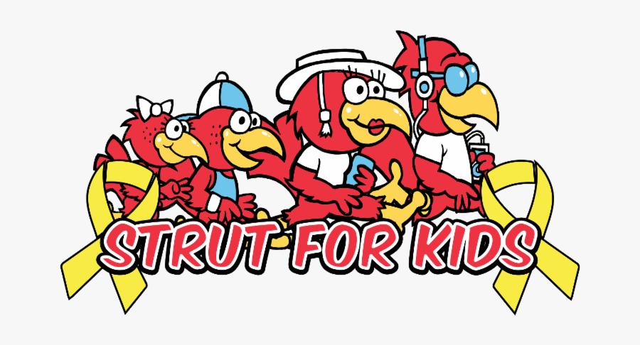 Strut For Kids Logo, Transparent Clipart