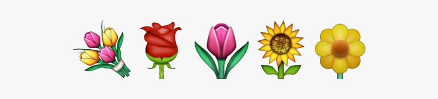 #flower #floweremoji #png #death #strawberry #microsoft - Rose, Transparent Clipart