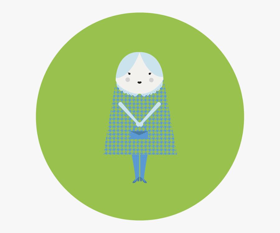 Old People Character Design - Illustration, Transparent Clipart