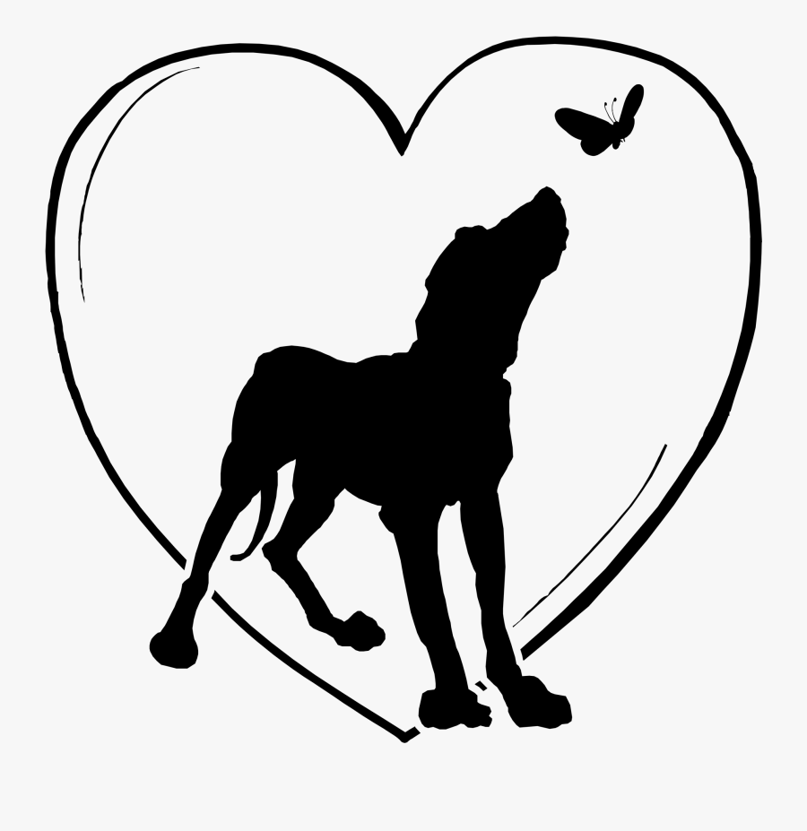 I Used To Watch And Laugh At Sam For Chasing And Jumping - Dog Chasing Butterfly Tattoo, Transparent Clipart