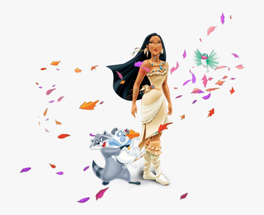 Pocahontas Leaves Png - Disney Princess Pocahontas Png, Transparent Clipart