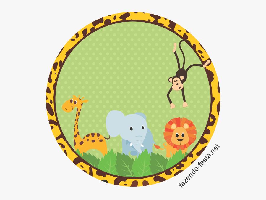 Transparent Safari Border Clipart - Safari Baby Shower Png, Transparent Clipart